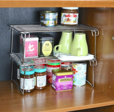 RV Kitchen Storage - Think Outside the Box | Home Is Where ...
